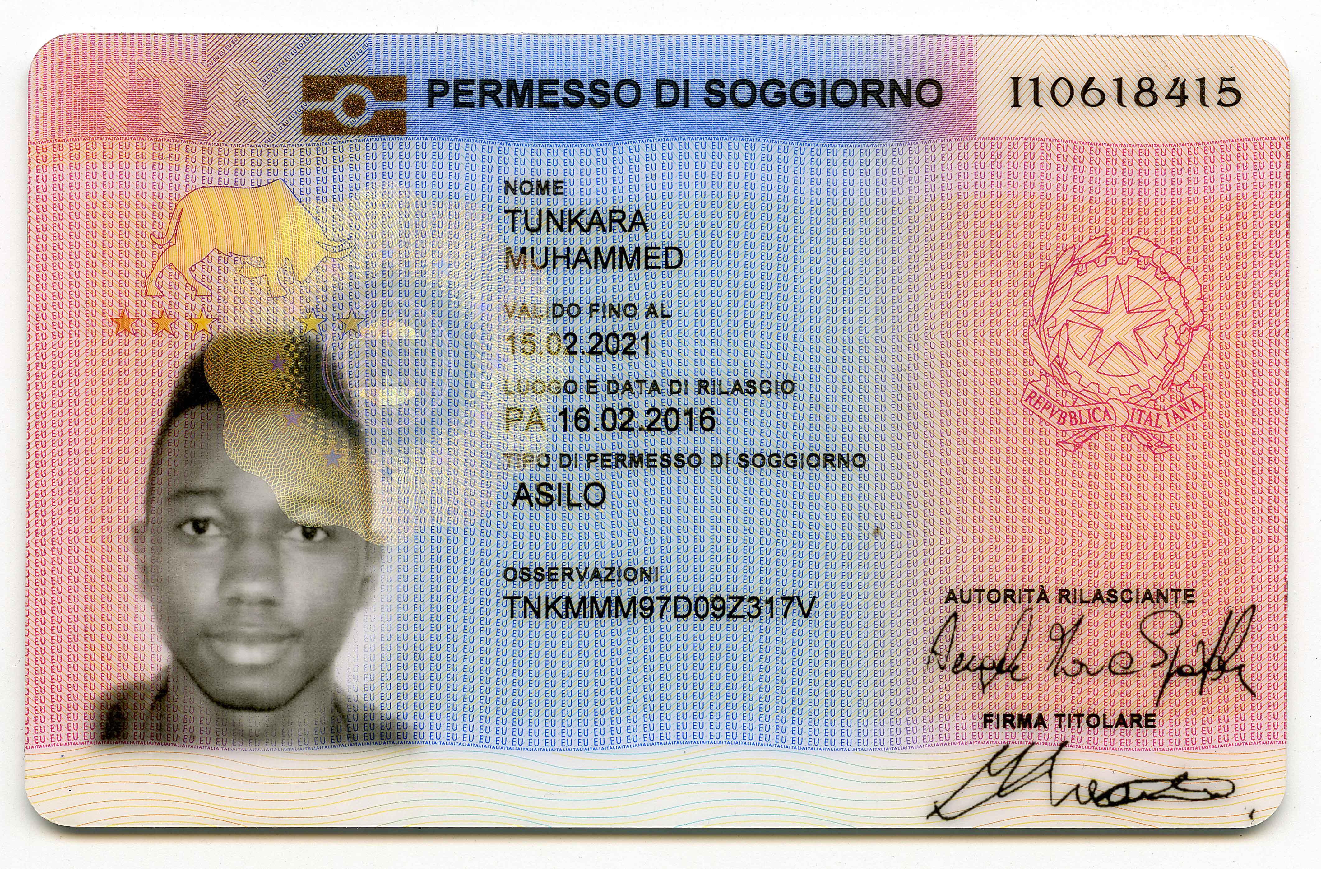 permesso di soggiorno per familiare di cittadino italiano - 28 ...